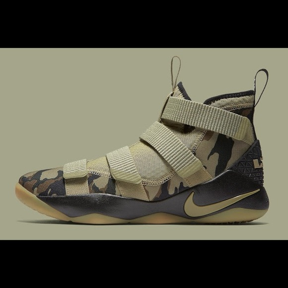 "quality design 24c10 54e19 Nike LeBron Soldier 11 ""Camo"""
